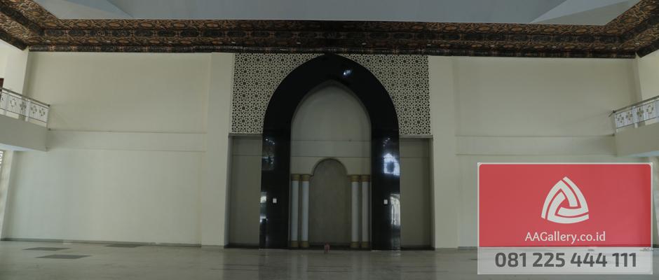 kubah masjid lampu masjid ornamen masjid dari tembaga kuningan-02