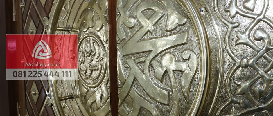 kubah masjid lampu masjid ornamen masjid dari tembaga kuningan-04